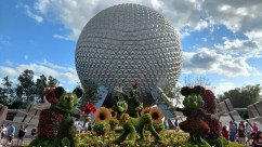 Epcot Entrance - Flower and Garden Festival