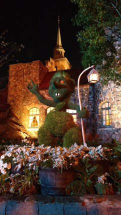 Norwegian topiary at Epcot Center's Flower and Garden Festival