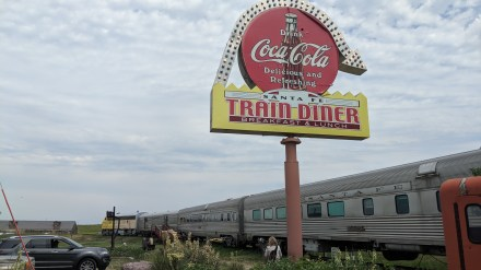 Just off of I-90 at Belvidere, South Dakota, there is the 1880's Town and this associate train car diner. We had a lunch and breakfast there, a bit pricey and the train car is really run down...they need to restore the restoration.