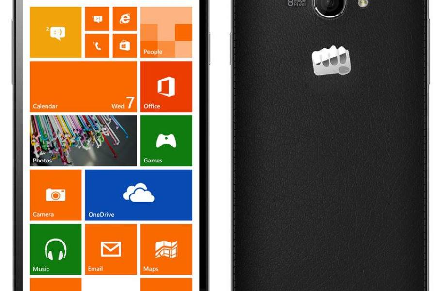 هاتف Canvas Win W121 بنظام الويندوز 8.1