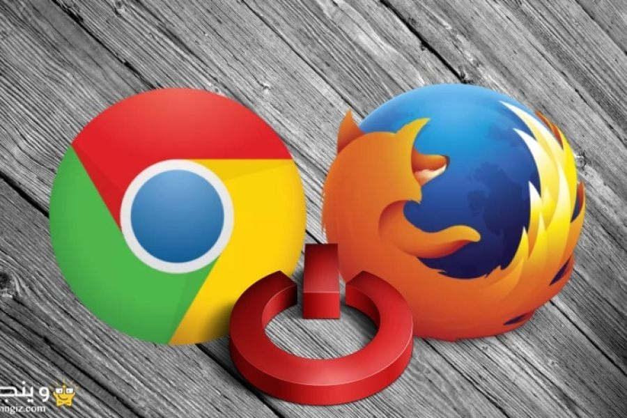 كيفية اعادة تشغيل المتصفح Restart جوجل كروم وفايرفوكس