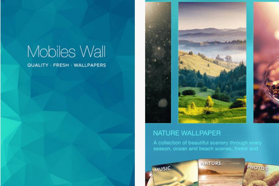 Mobiles Wall افضل تطبيق للحصول على خلفيات للايفون والايباد
