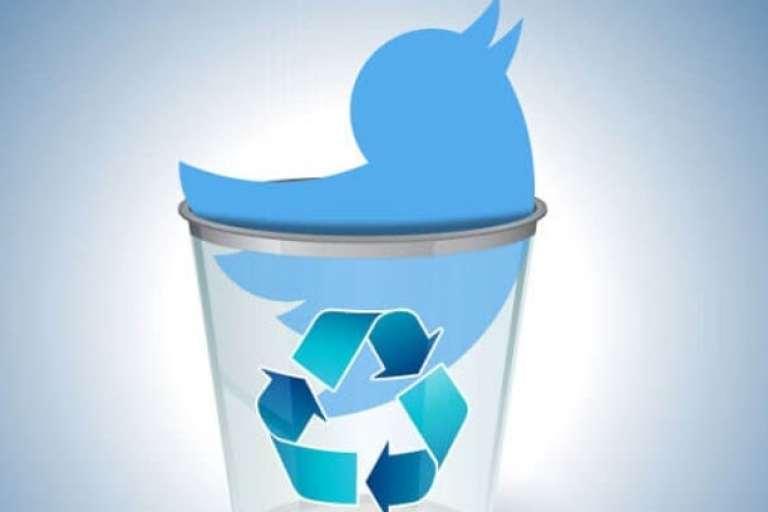 شرح حذف تغريدات تويتر القديمة كلها دفعة واحدة