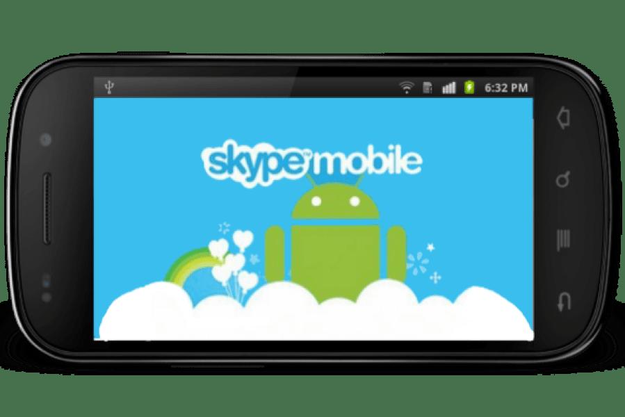 طريقة تسجيل الخروج من سكايب اندرويد بالصور   skype sign out android
