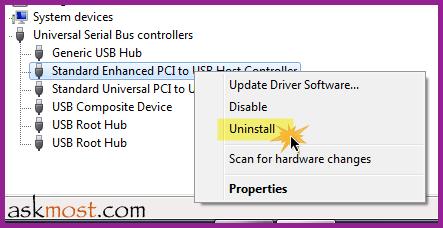 usb device not recognized windows 7 حل مشكلة