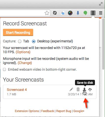 تسجيل الشاشة فيديو بدون برامج_5