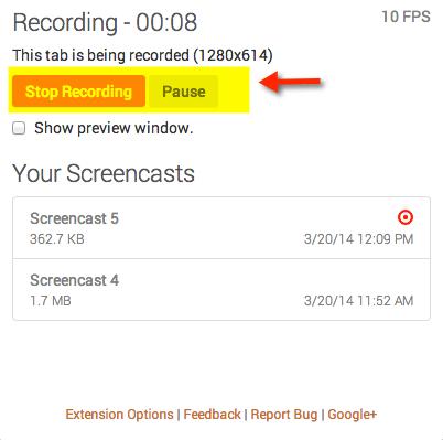 تسجيل الشاشة فيديو بدون برامج_6
