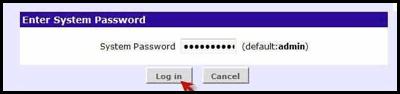 الدخول على راوتر 3com