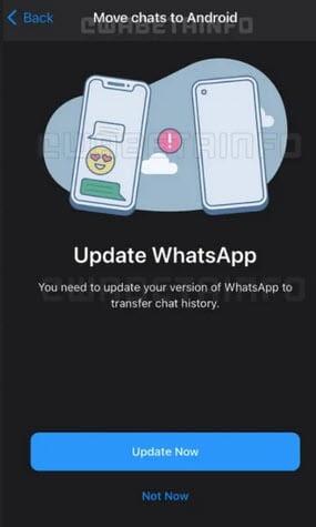 تحديث الواتس اب الجديد 2021
