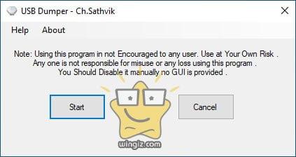برنامج سحب الملفات من الفلاشة USB