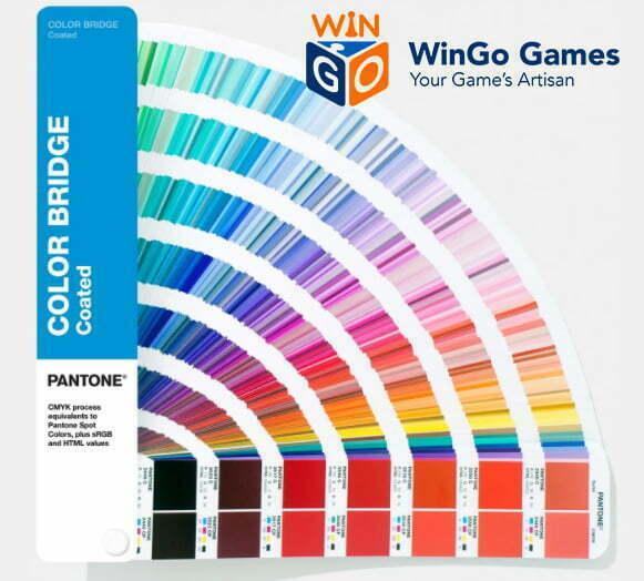 board game maker-pantone card