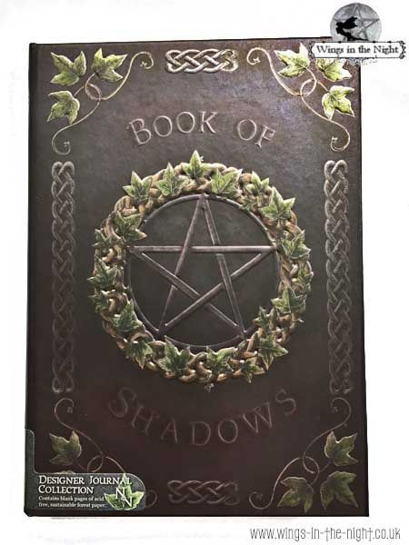 NEMESIS NOW Pagan Pentacle Embossed Notebook Ivy