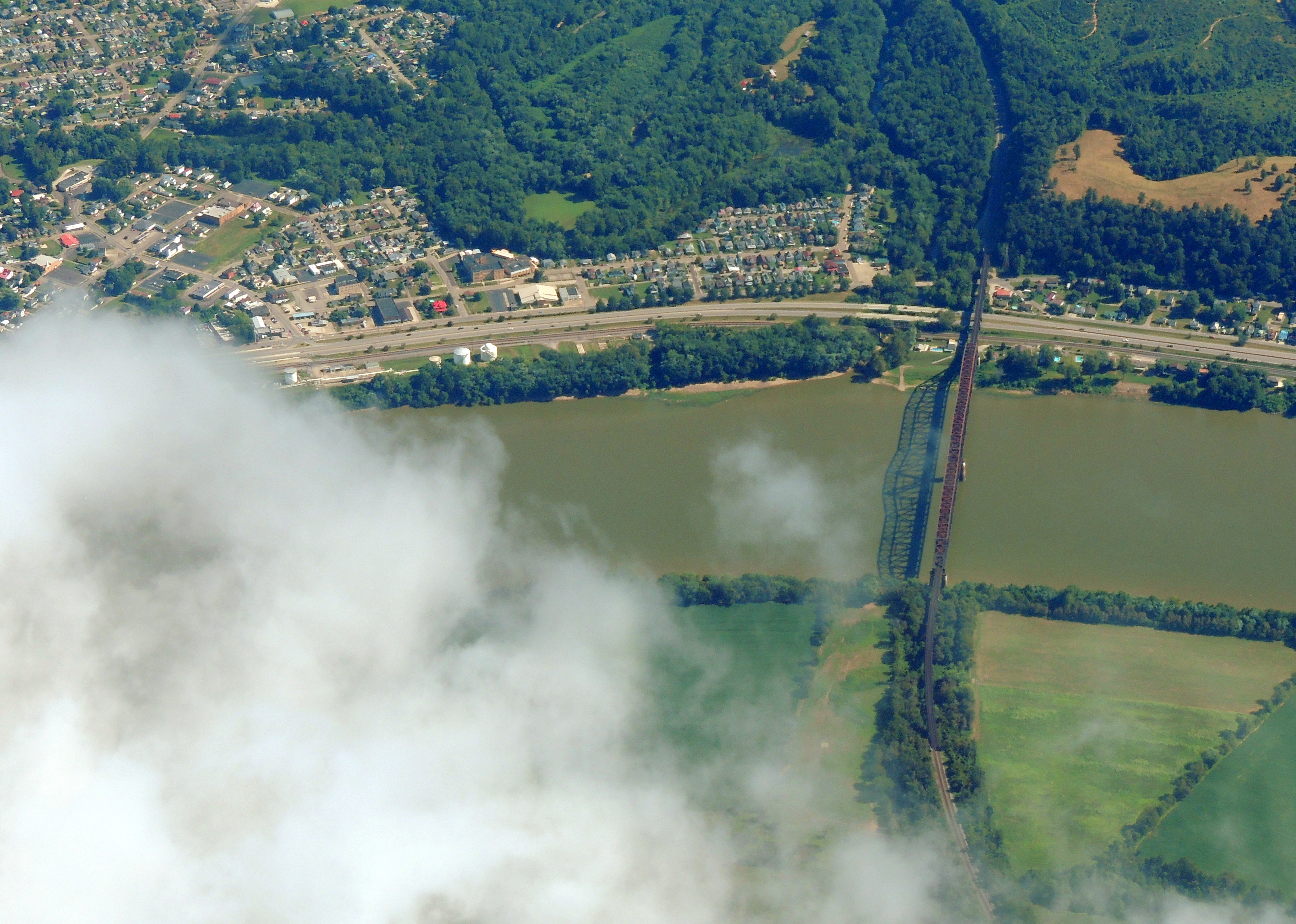 Bridge over the Ohio River