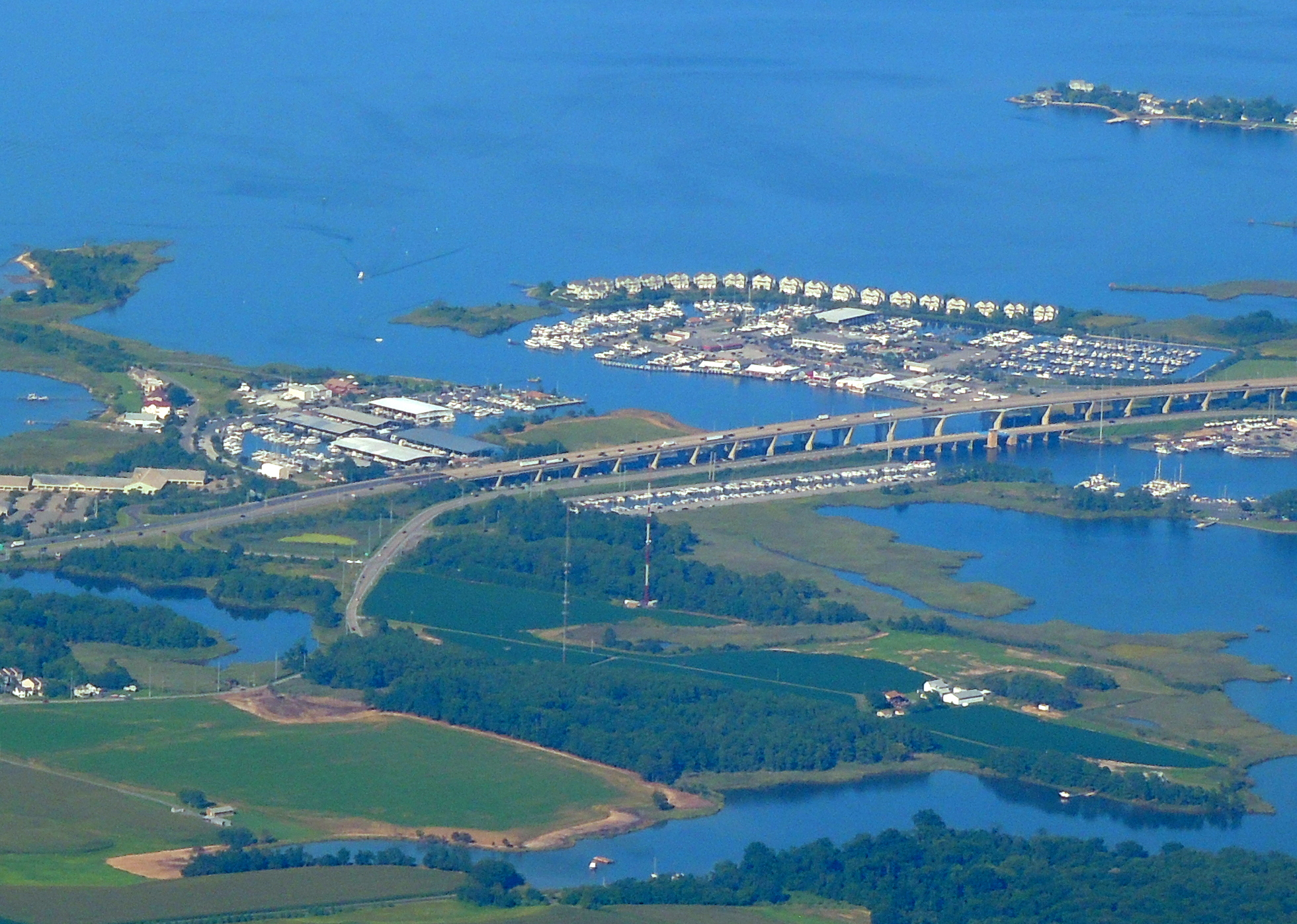 Kent Narrows Bridge, Kent Island MD