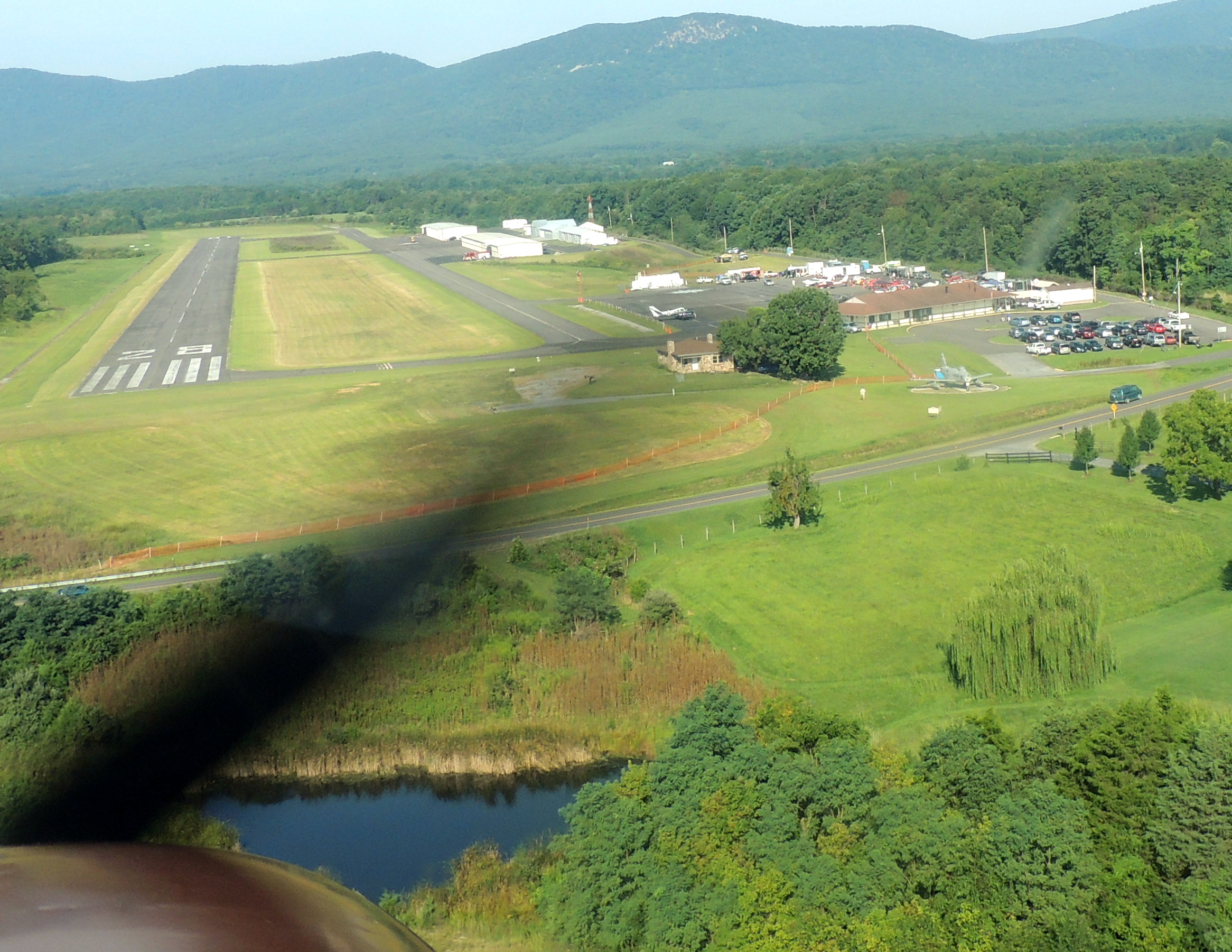 Arriving at Front Royal for the Virginia Air Show