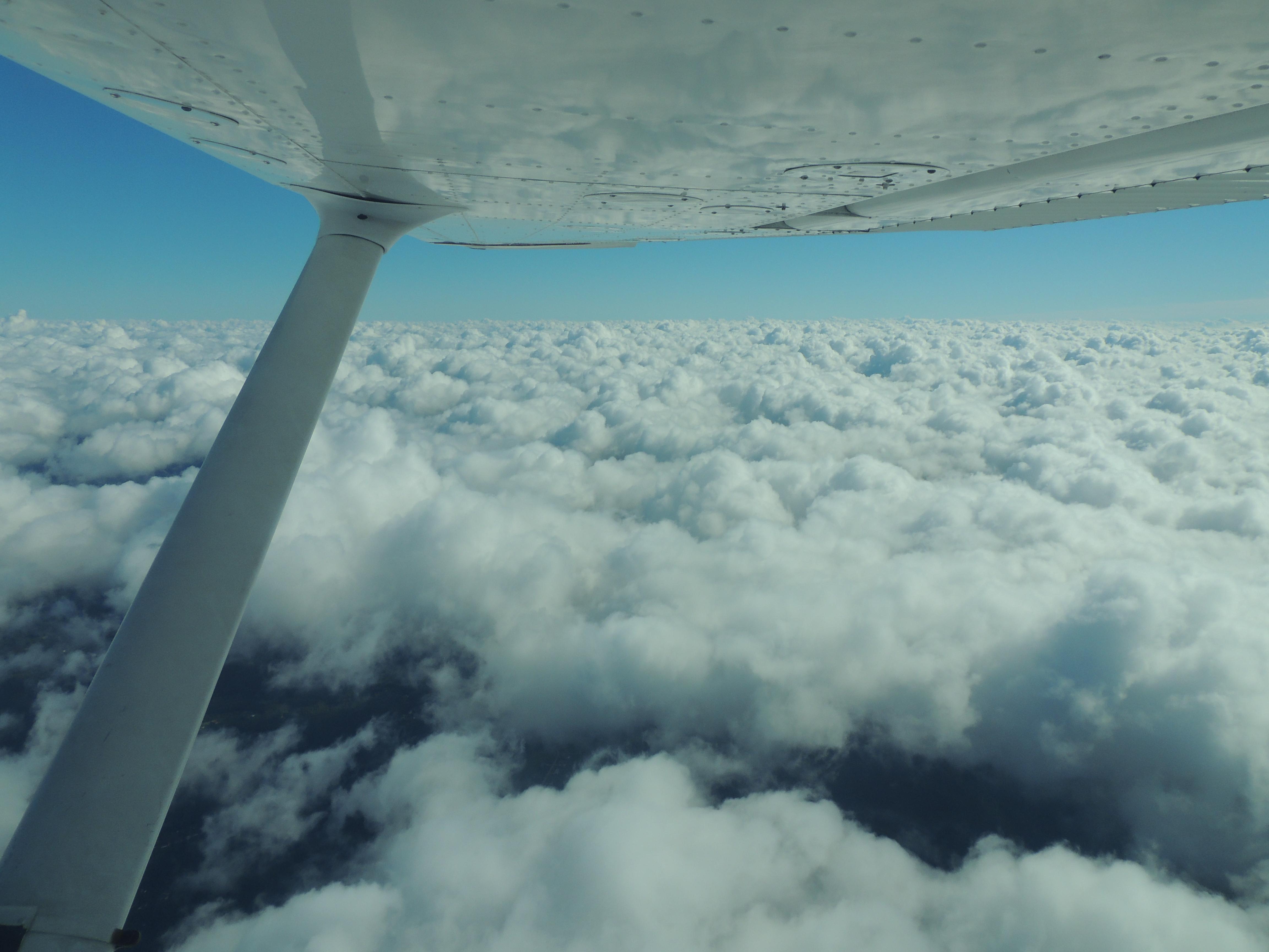 Beautiful Cloud Surfing