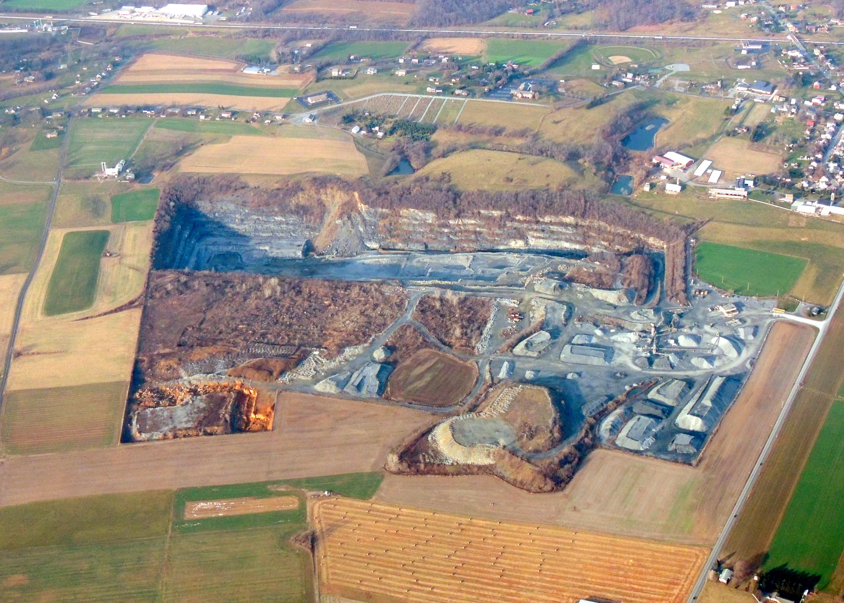Quarry in Pennsylvania