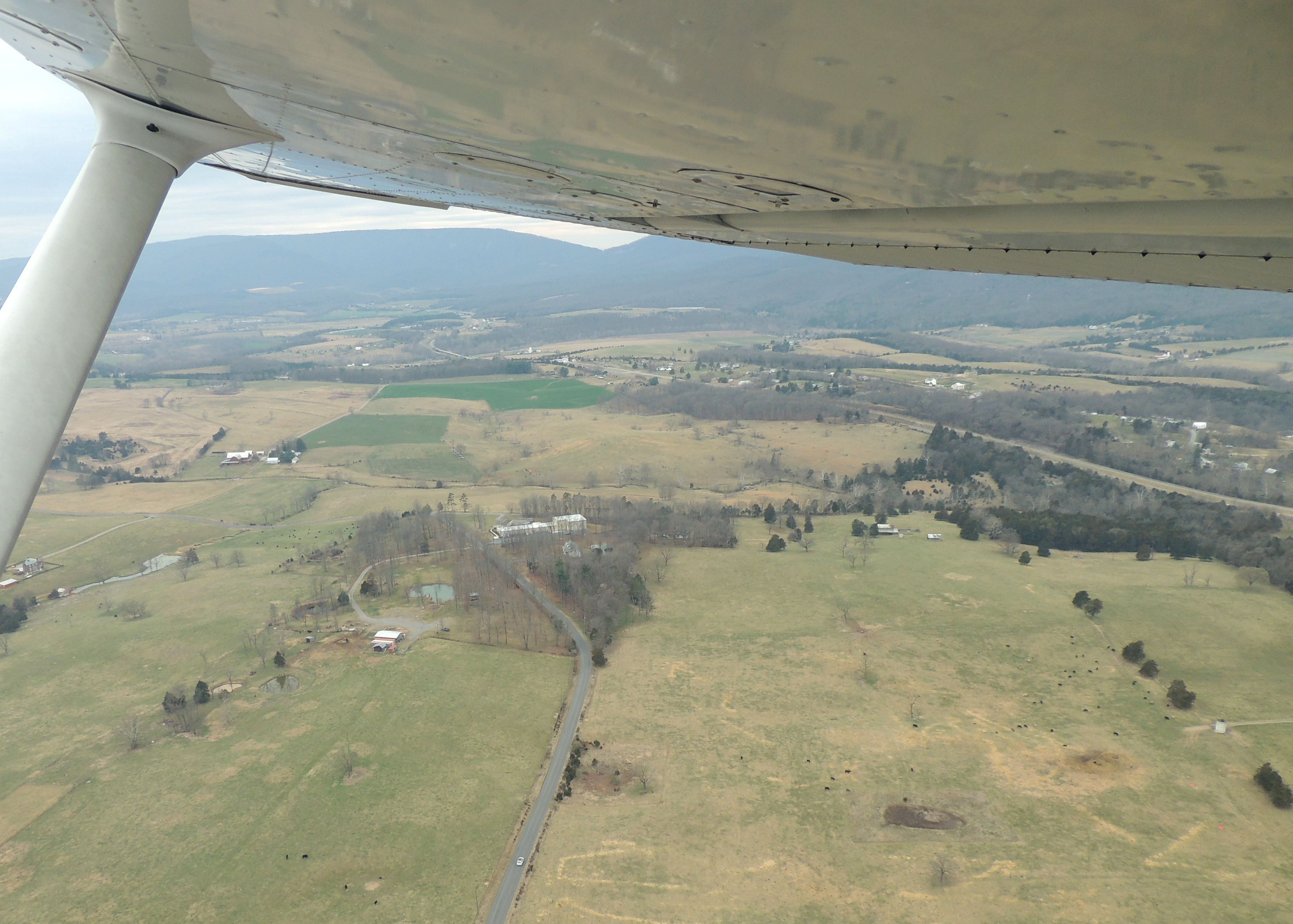 Departing Home Base Luray Va