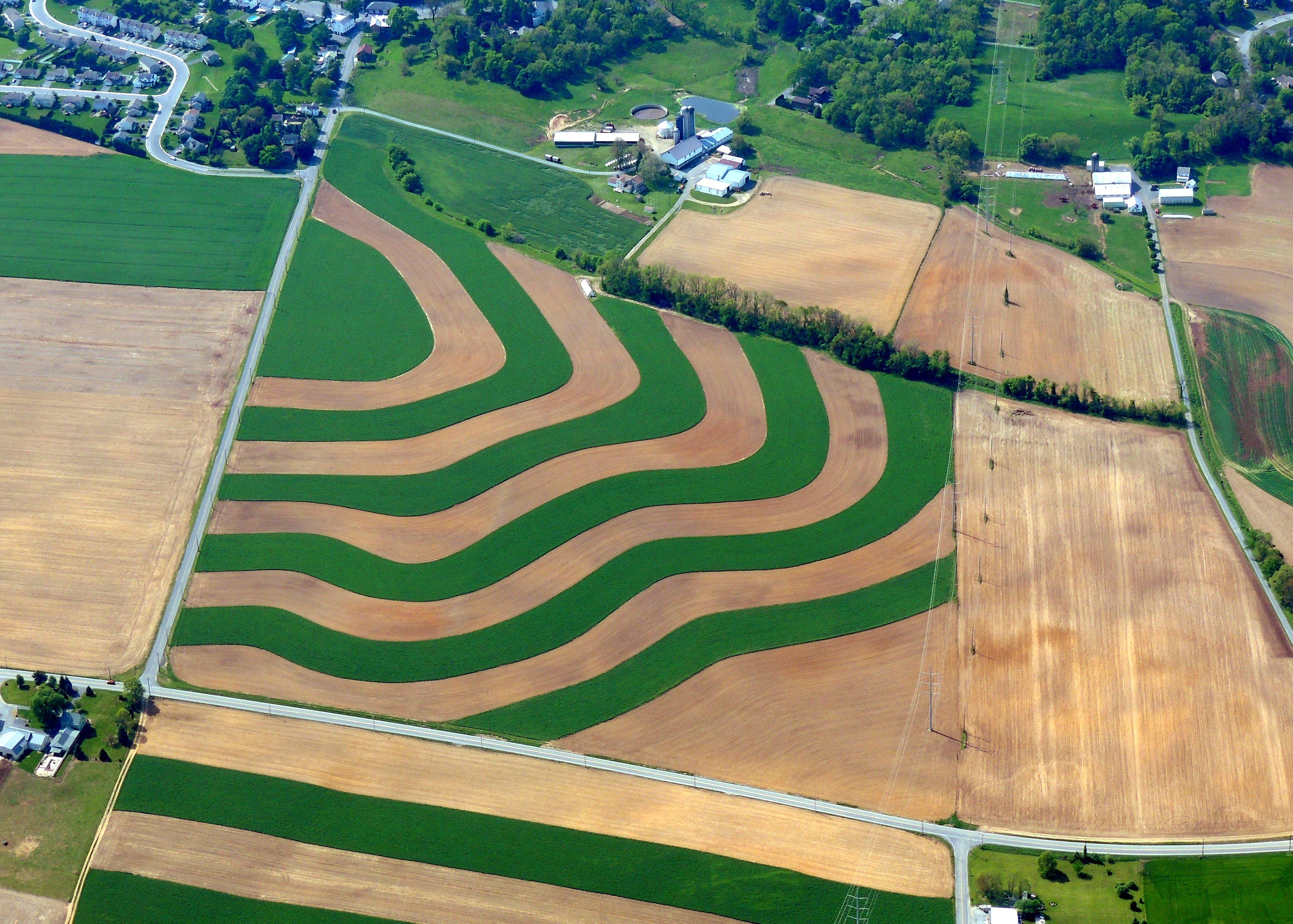 Love the farm fields in PA