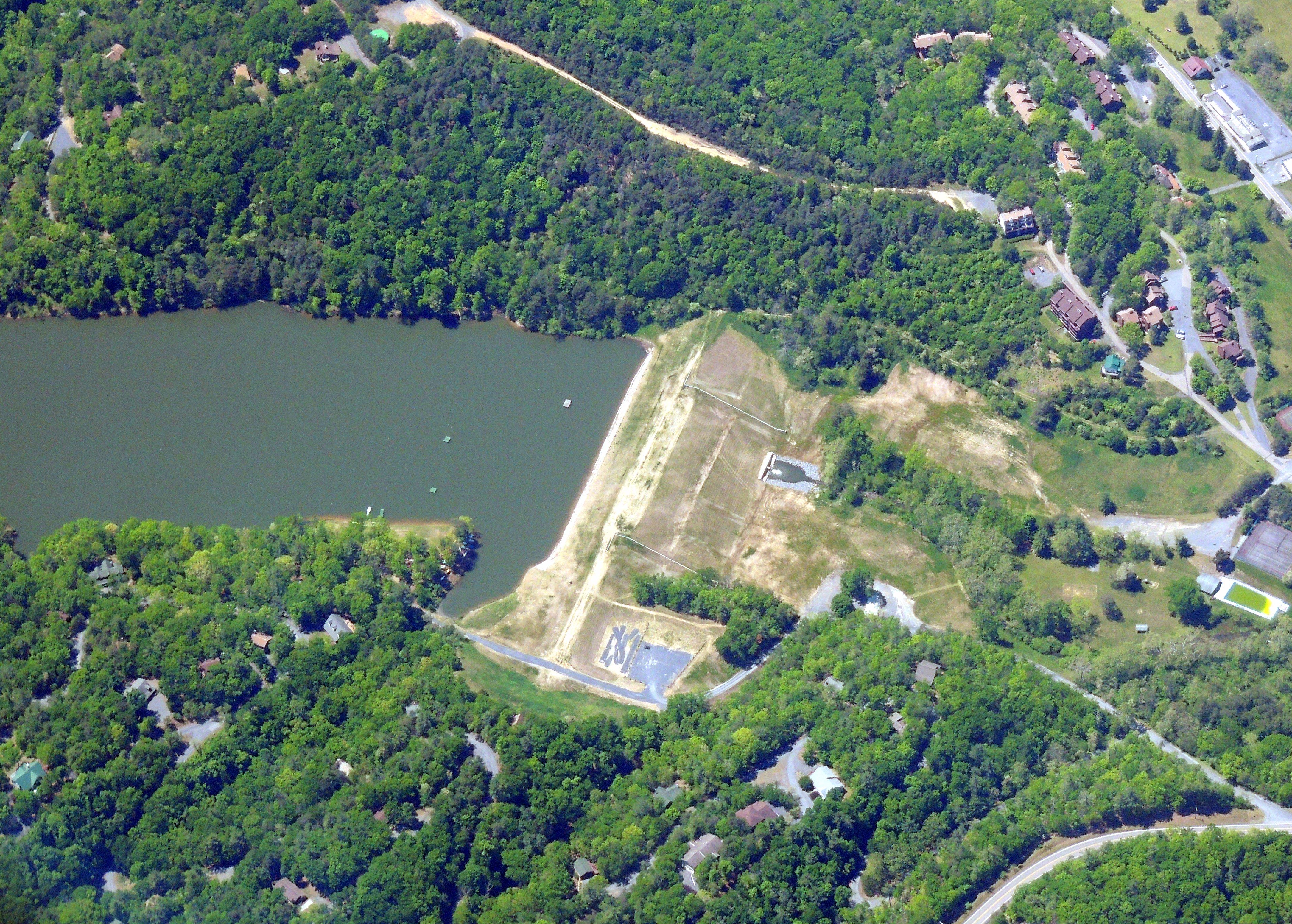 Lake Laura Dam..... Basye Virginia