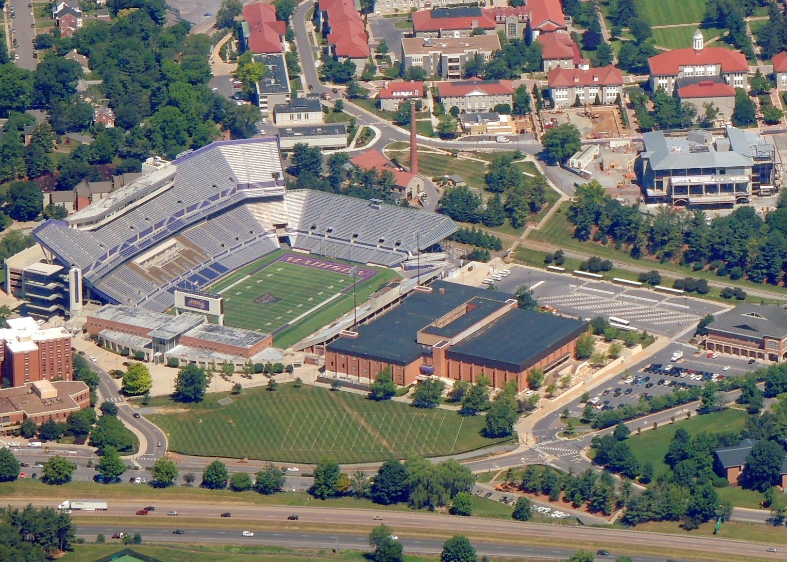 JMU Duke Stadium ....... Harrisonburg VA