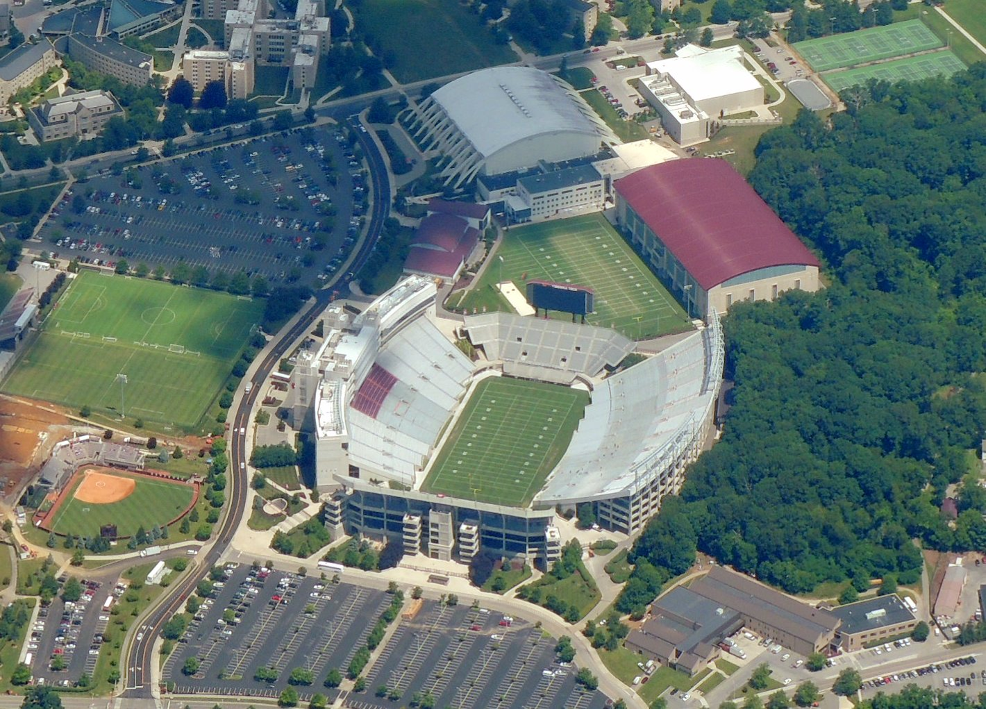 Virginia Tech Hookies Lane Stadium ...... Blacksburg VA