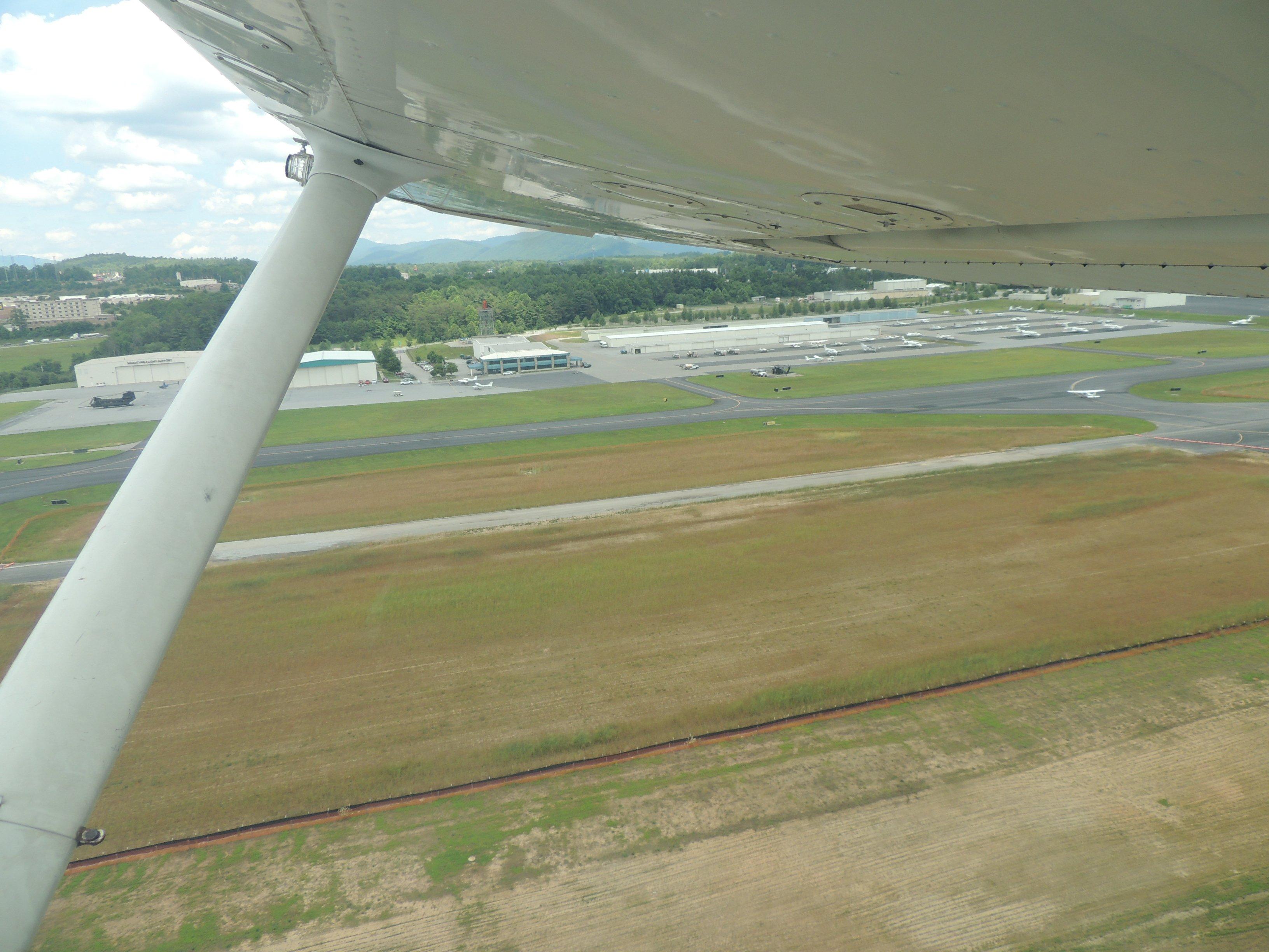 Departing Asheville NC...... heading to Roanoke VA