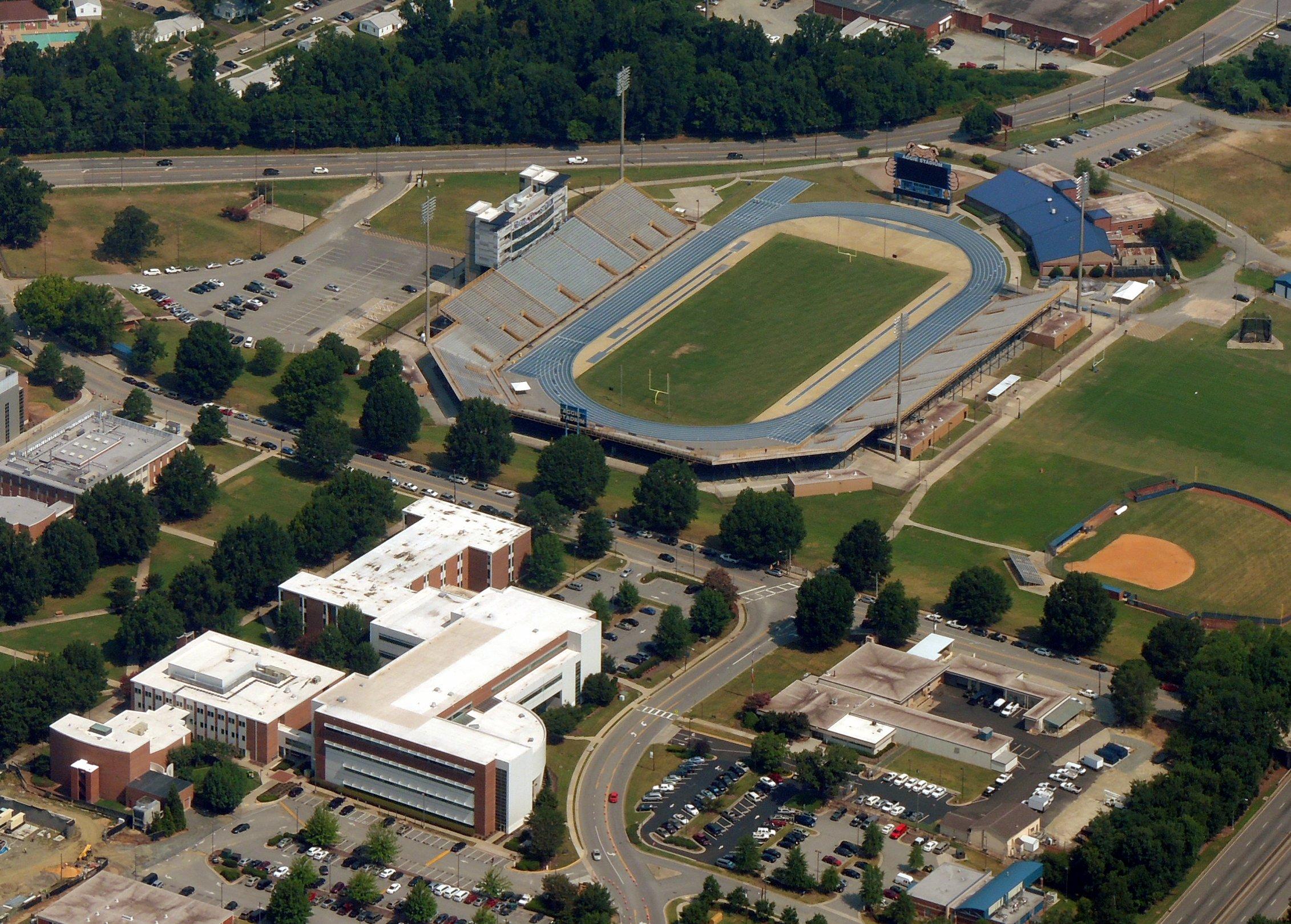 Aggie Stadium ..... Greensboro NC