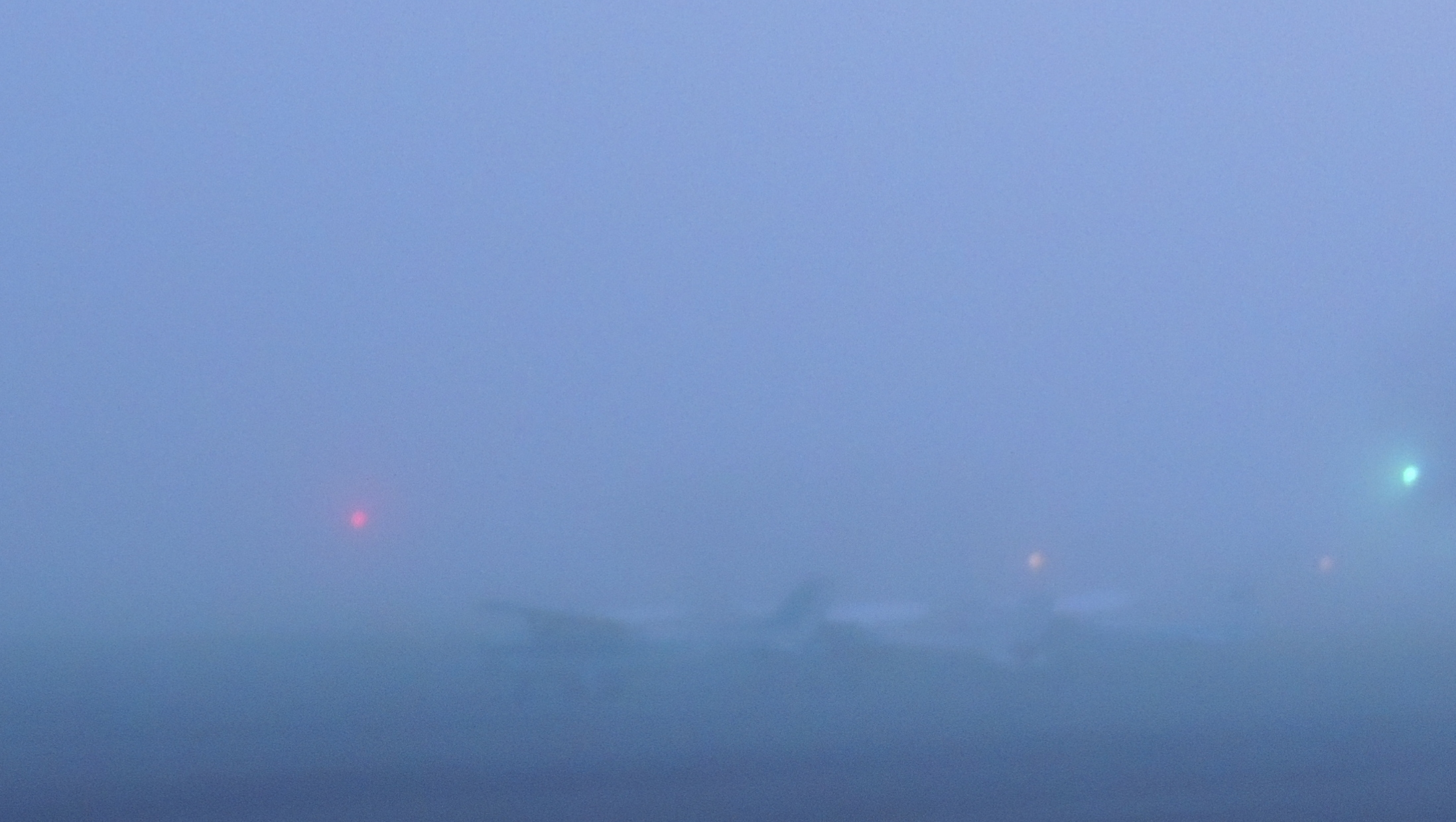 Early morning fog at our Home Base Luray