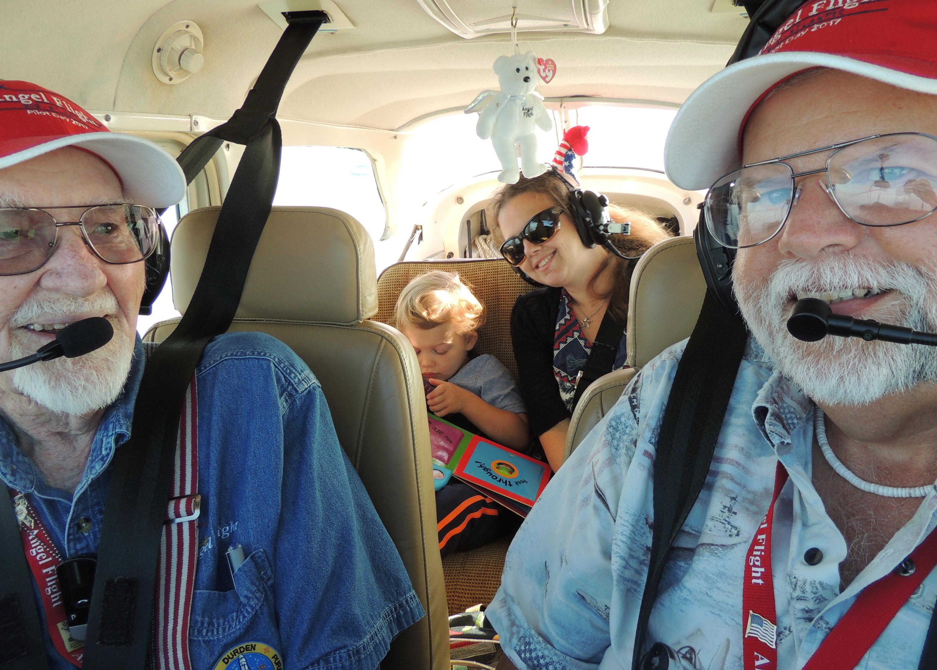 Heading to Cincinnati Ohio with Mason and his Mom Dorothy