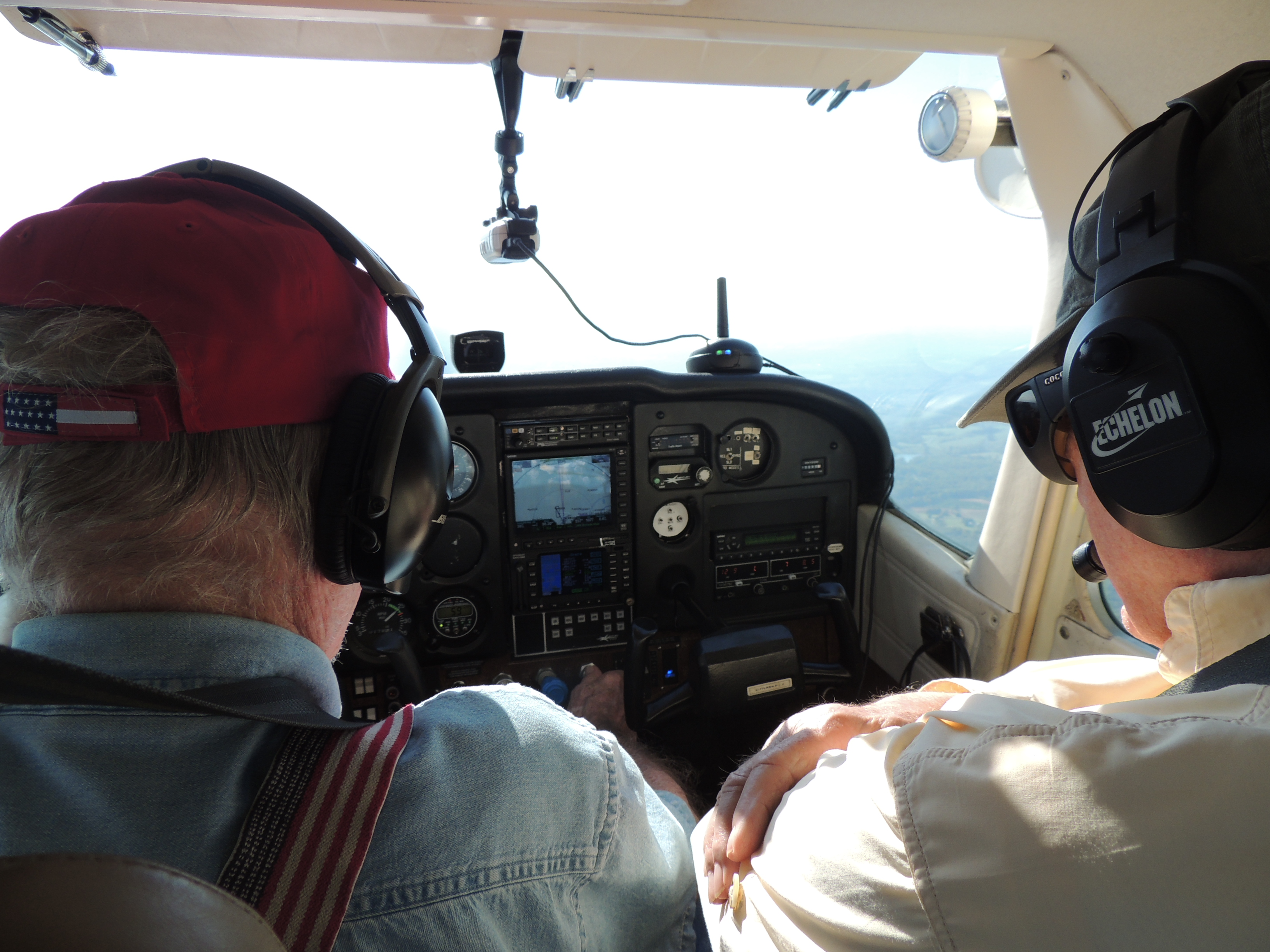 Over Smith Mountain Lake with Veteran John Cahoon