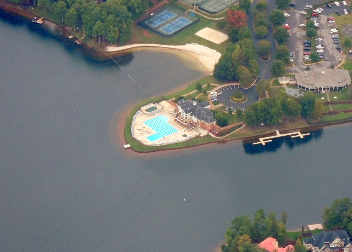 Time for a swim..... your choice..... Pool or Lake