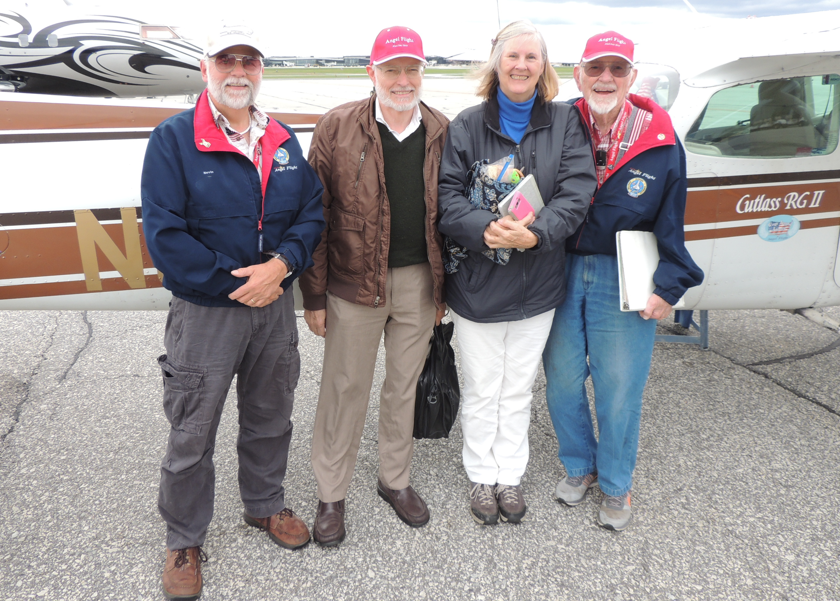 With Donald and Camille safely on the ground in Baltimore (BWI)