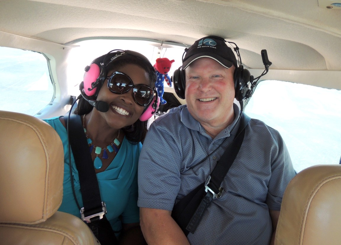 WAVY TV 10 Crew going for a flight with us
