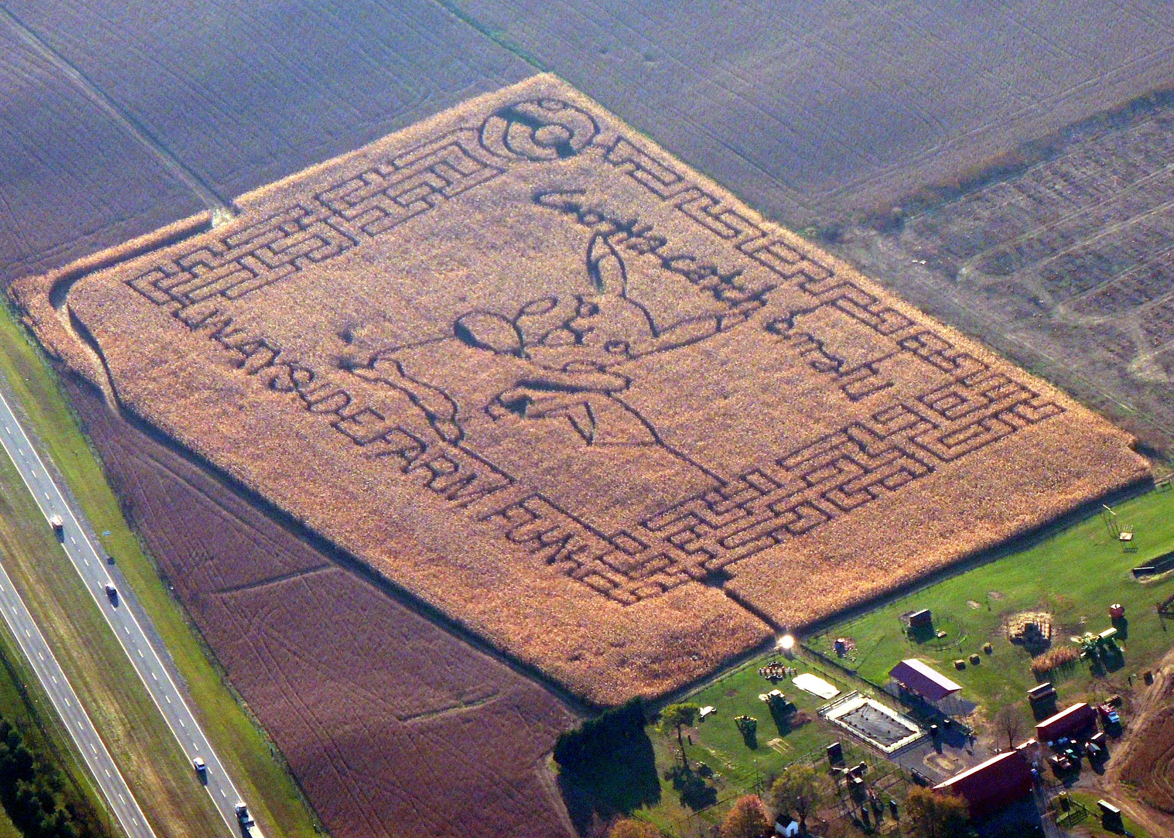 Wayside Farm Maze ....... Berryville VA