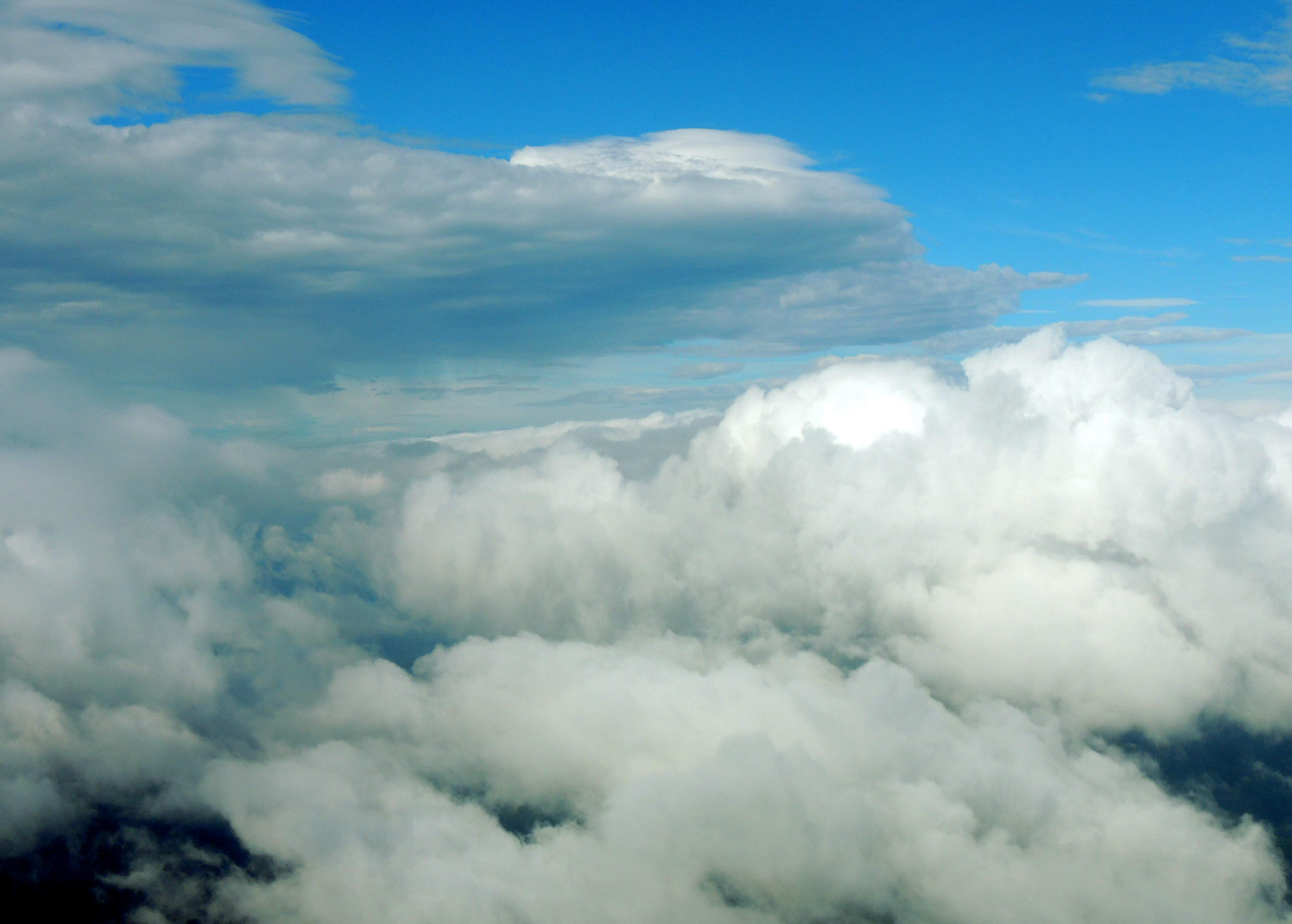Heading to Charleston WV at 7000 feet