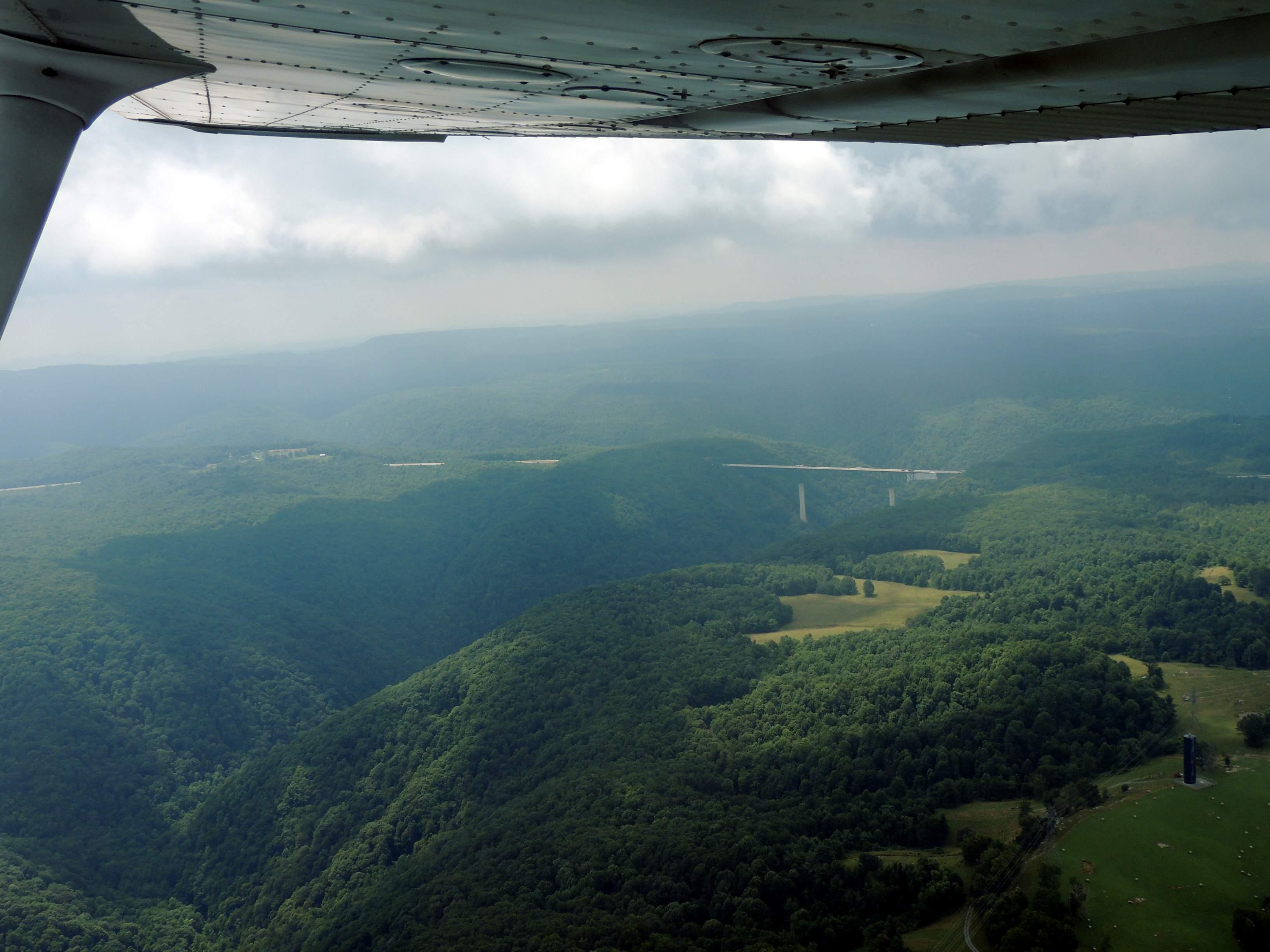 Departing Beckley WV heading for Manassas VA