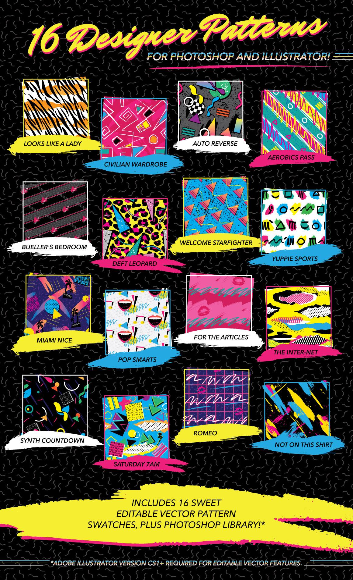 1980s Fashion Patterns Vol One