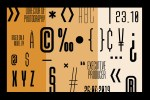 Due Credit - The Film poster Font