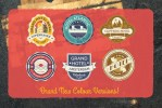 Vintage Tavel Labels