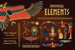 Egyptian Illustrations and Design Templates