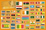 Flags of the World Vector Illustrations