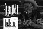 Long Rider - The Compressed Slab Cowboy Font