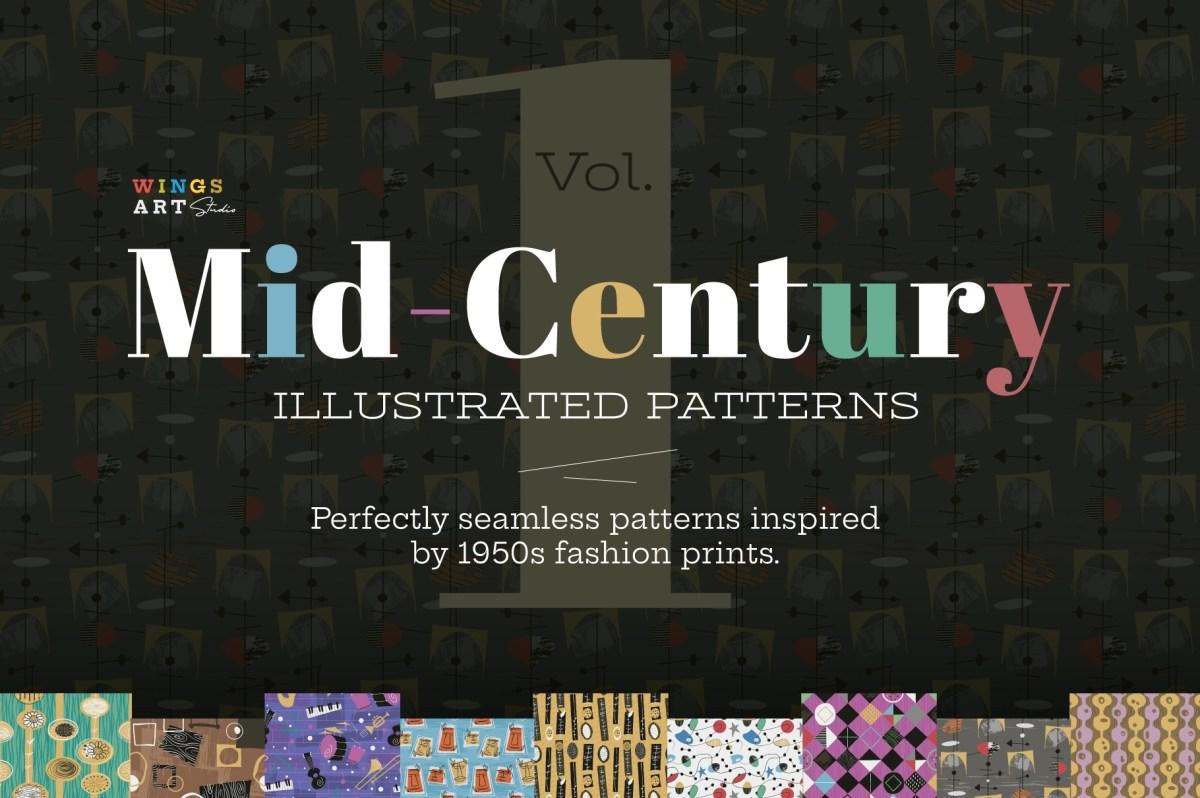 Mid-Century Patterns Vol: 1