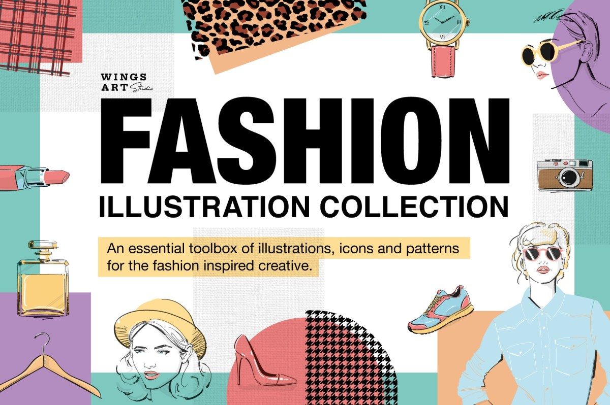 Download Make-up and Fashion Vector Icons Graphics