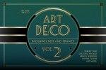 Art Deco Menu TemplatesArt Deco Menu Templates