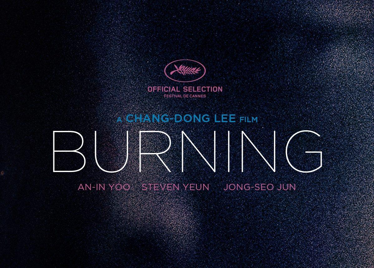 Lee Chang-Dong Burning Poster