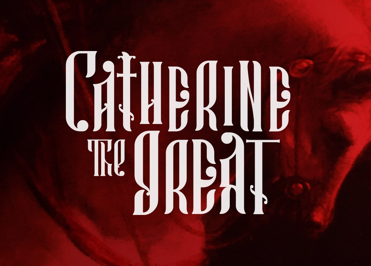 Catherine the Great Title Design