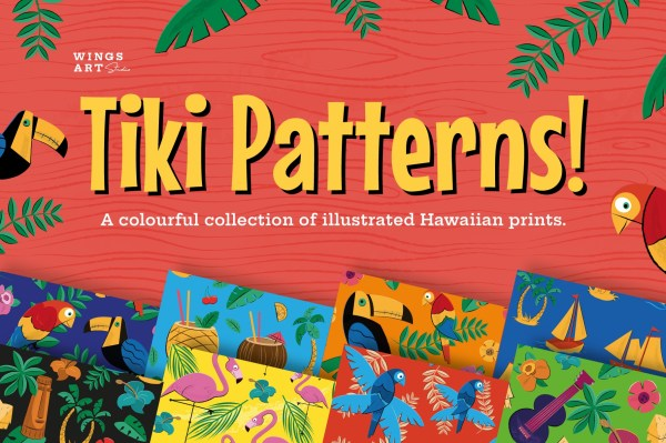 Tiki and Hawiian Prints