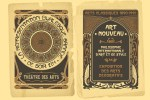 Beautiful Vintage Art Nouveau Design Templates